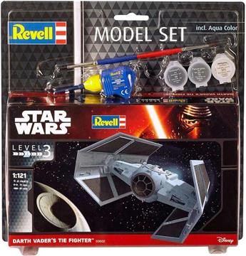 Revell Star Wars Darth Vaders Tie Fighters Model Maketi - 1:121 resmi
