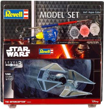 Revell Star Wars Tie Interceptor Model Maketi - 1:90 resmi