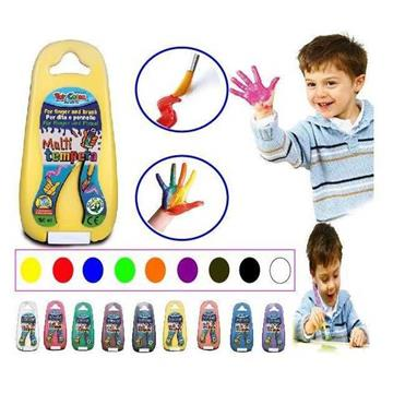 Toy Colour Multi Tempera 150ml Parmak Boyası resmi