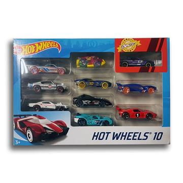 Hot Wheels 10'lu Araba Seti resmi