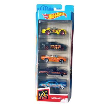 Hot Wheels Beşli Araba Seti resmi