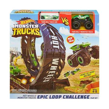 Hot Wheels Monster Trucks Efsane Çember Aksiyon Oyun Seti resmi